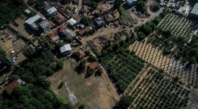 Bursadaki selde 30 bin 500 dönüm tarım arazisi zarar gördü