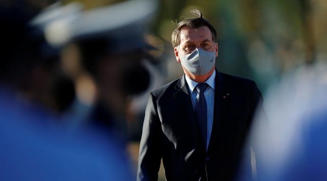 Brezilya Devlet Başkanı Bolsonaronun maske kullanması için mahkeme kararı çıkarıldı