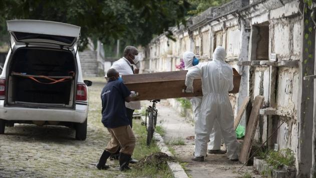 Son 24 saatte Brezilyada 1374, Meksikada 793, Hindistanda 465 kişi öldü