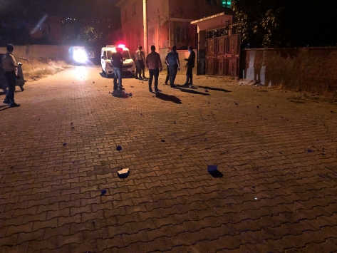 Kahramanmaraşta çıkan taşlı sopalı kavgaya karışan 8 kişi gözaltına alındı