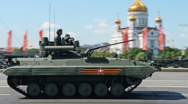 Rusyada Zafer Günü törenle kutlandı