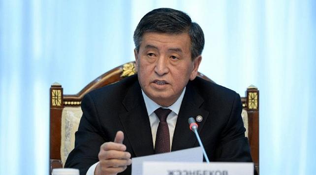 Kırgızistan Cumhurbaşkanı Ceenbekov karantinaya alınacak