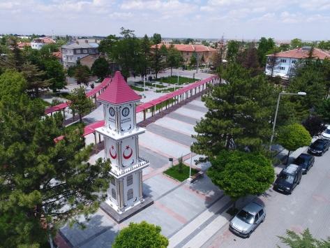Sarayönü kent meydanı tamamlandı