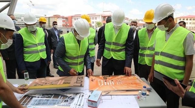 Sivas Bilim ve Teknoloji Üniversitesinde inşaat çalışmaları sürüyor