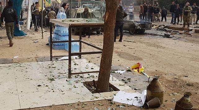 Afrinde bombalı terör saldırısı: 2 ölü, 5 yaralı