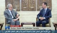 Suriye Devlet Televizyonunda Türkçe Haber