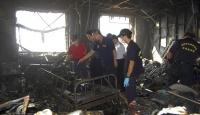 Hastane Yangını: 12 Kişi Öldü