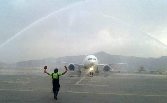 Afganistana 3 ay aradan sonra ilk uçuş THY tarafından gerçekleştirildi