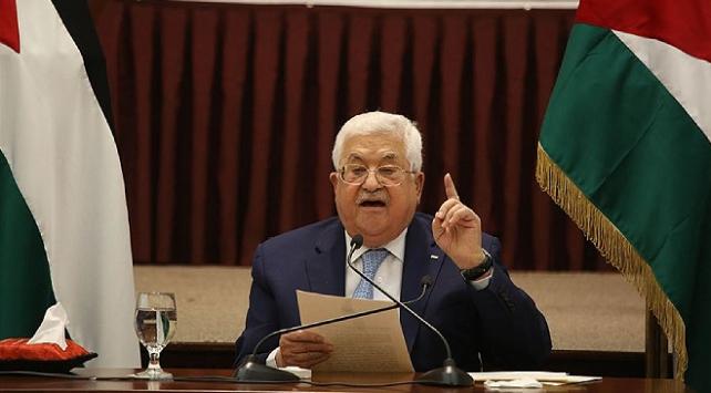Filistin Devlet Başkanı Abbas: Filistin topraklarının bir karışının dahi ilhakını kabul etmeyiz
