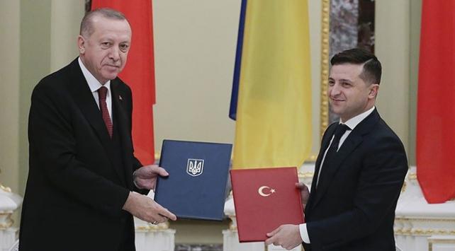 Cumhurbaşkanı Erdoğan ile Zelenskiy telefonda görüştü