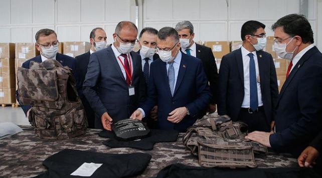 Cumhurbaşkanı Yardımcısı Oktay Yozgat OSBdeki fabrikaları gezdi