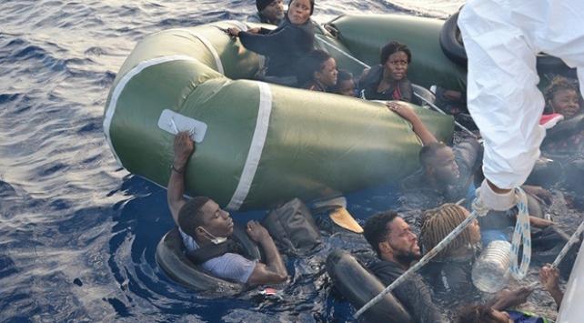 Yunanistan geri itti, 50 sığınmacıyı Türkiye kurtardı