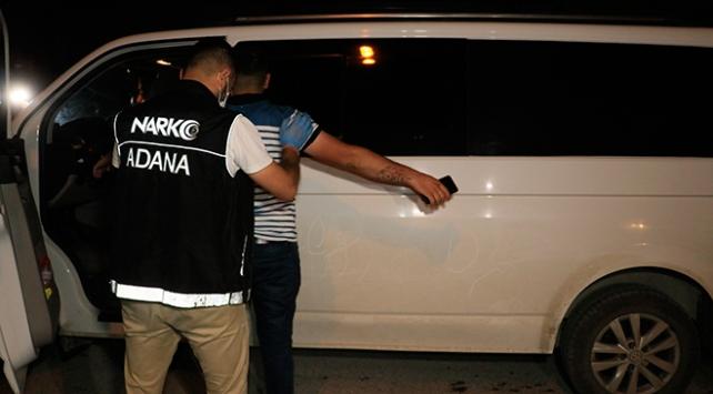 Adanada uyuşturucu operasyonu: 8 gözaltı
