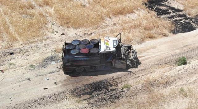 Barış Pınarı bölgesinde bombalı saldırı önlendi