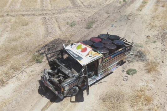 MSB: Barış Pınarı bölgesinde PKK/YPGnin bombalı kamyonetle saldırısı önlendi