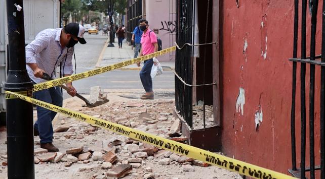 Meksikadaki depremde ölü sayısı 7ye yükseldi