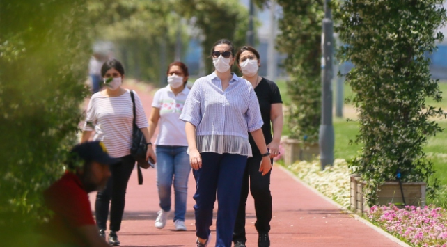 İzmirde maske takmak zorunlu oldu