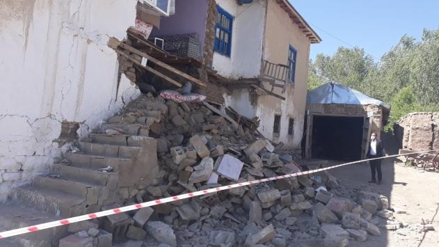 Vandaki 5,4 büyüklüğünde deprem