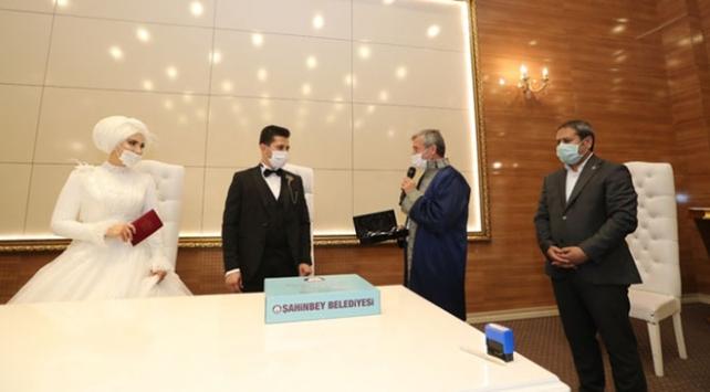 Gaziantepte nikah törenleri canlı yayından izlenebilecek