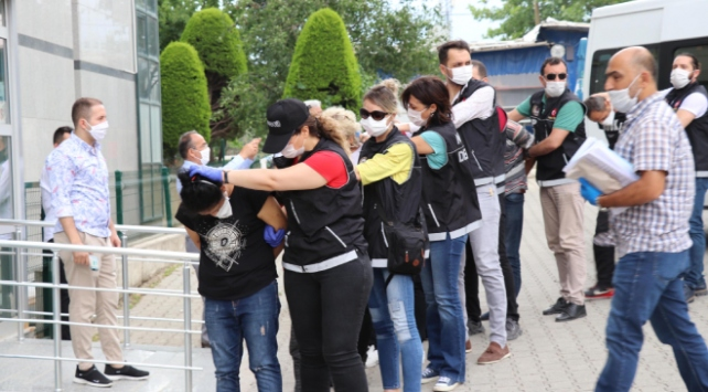 Denizlide zehir tacirlerine yönelik operasyon: 9 tutuklama