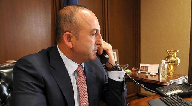 Dışişleri Bakanı Çavuşoğlunun telefon diplomasisi