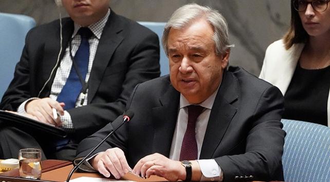 BM Genel Sekreteri Guterres: Uluslararası iş birliğini yeniden şekillendirmeliyiz