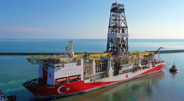 Milli sondaj gemisi Fatih Trabzon Limanından ayrıldı