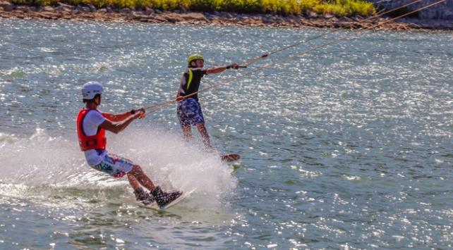 Amanosların eteğindeki gölette su sporları yapılacak