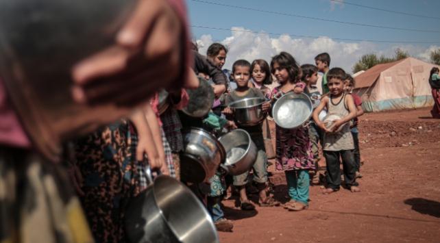 BM: Suriyeliler benzeri görülmemiş açlık kriziyle karşı karşıya