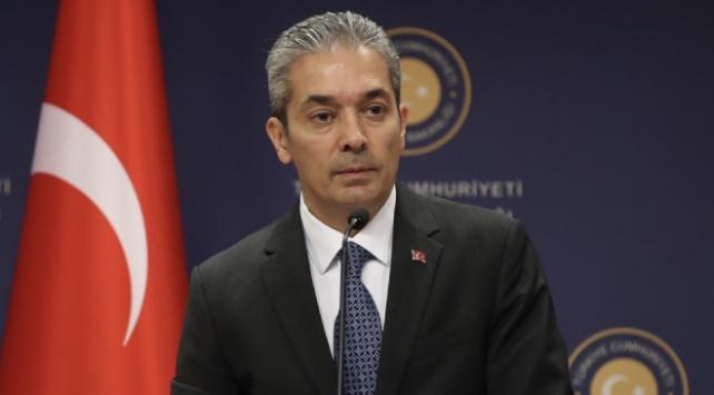 Dışişleri Bakanlığı Sözcüsü Aksoy: Kahraman Silahlı Kuvvetlerimizin sicili temizdir