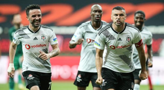 Beşiktaş 3 golle kazandı