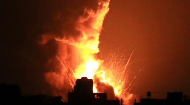 İsrailden Gazzedeki tarım alanlarına hava saldırısı