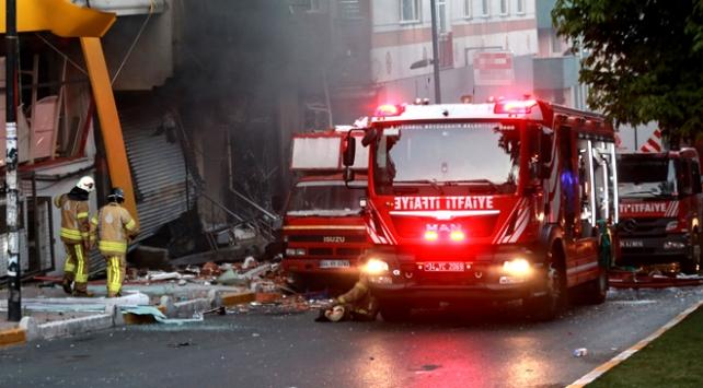İstanbulda tekstil atölyesinde patlama: 1 ölü, 10 yaralı