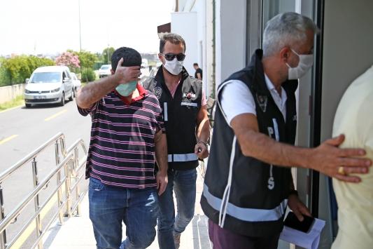 Adanada tefeci operasyonu: 18 gözaltı
