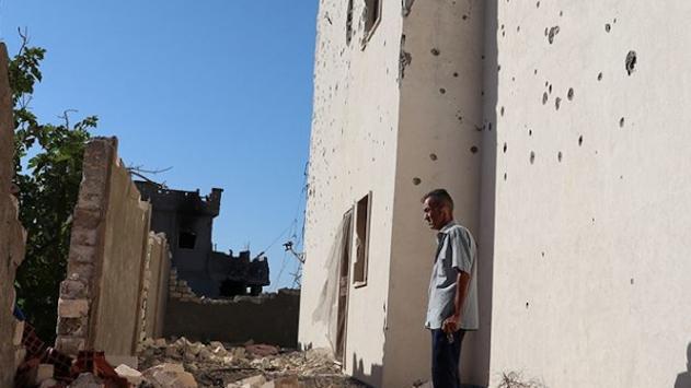 Hafter milisleri Trablustan çekilirken geride büyük yıkım bıraktı