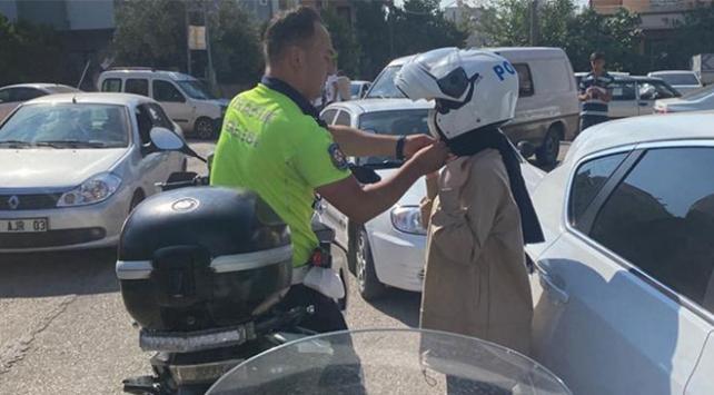Soyludan öğrenciler için seferber olan polislere teşekkür