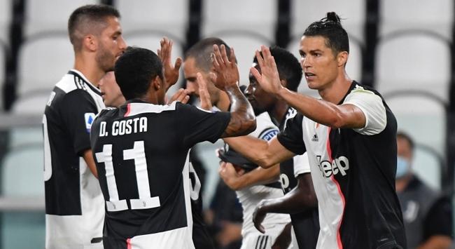 Juventus Lecce karşısında farklı galip