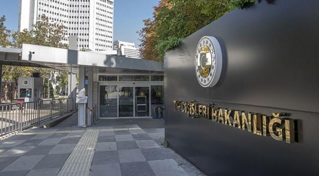 Dışişlerinden ABnin Kıbrıs Türklerini yok sayan teklifine tepki