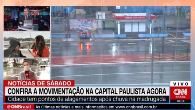 CNN muhabiri canlı yayın sırasında soyuldu