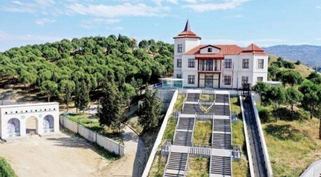Adnan Menderes Demokrasi Müzesinin içi dizayn ediliyor