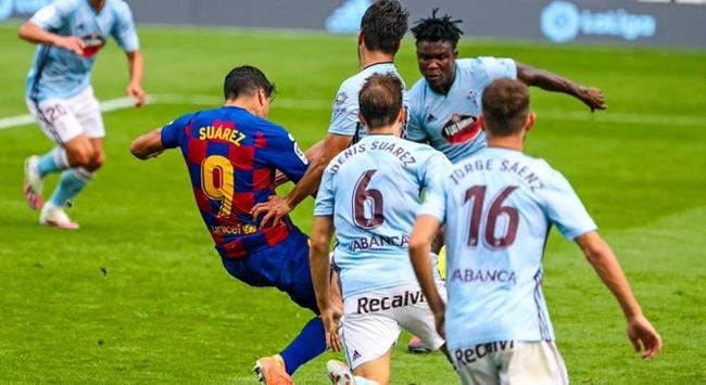 Barcelona Celta Vigo karşısında puan kaybetti