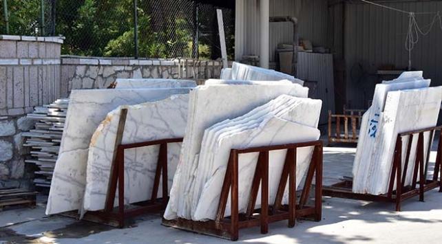 Muğlanın tescilli beyaz mermeri 60 ülkeye ihraç ediliyor