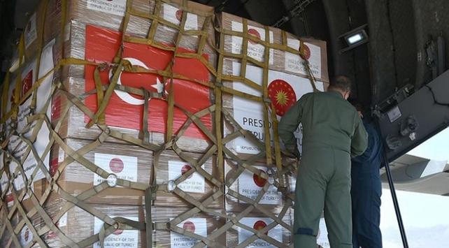 Türkiyeden Iraka tıbbi malzeme yardımı