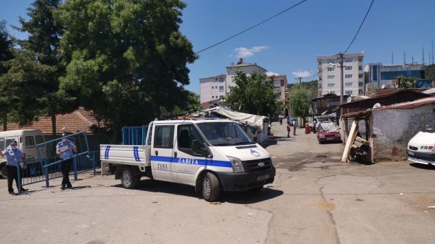 Kocaelinde bir sokak karantinaya alındı