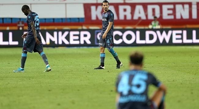 Trabzonspor skor üstünlüğünü koruyamıyor