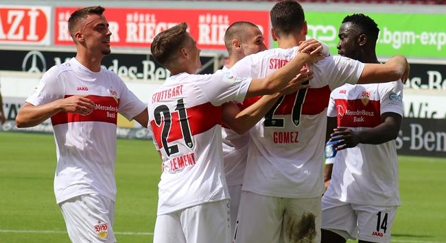 Stuttgart Bundesligaya yükseldi