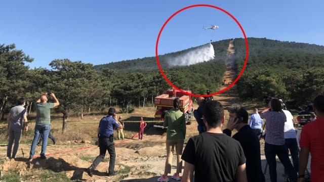 TRT Haber ekibinin canlı yayında zor anları