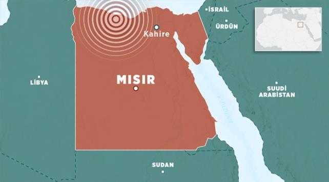 Mısırda 5,5 büyüklüğünde deprem