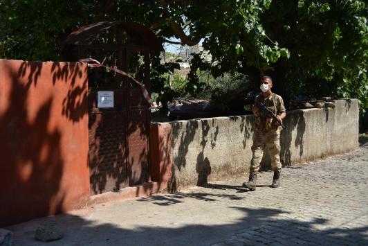 Gaziantepte 53 ev karantinaya alındı