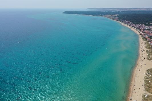 Turizmin parlayan yıldızı Saros, normalleşme sürecinde tatilcileri bekliyor